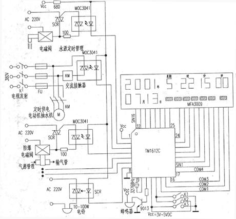 集成电路tm1612c